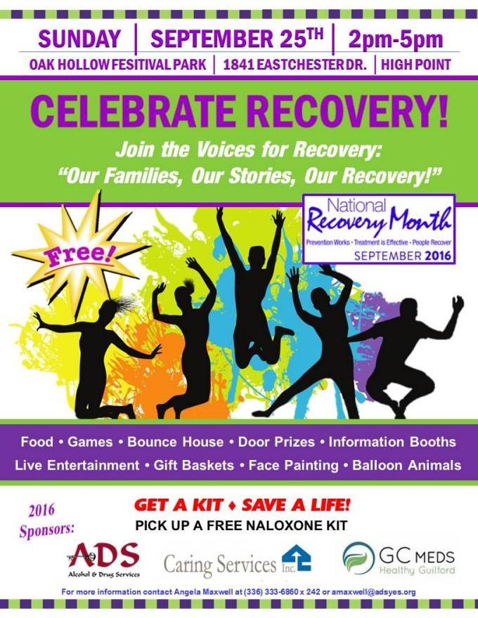 2016 Recovery Rally